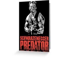 NES Predator: Arnie Edition Greeting Card
