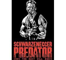 NES Predator: Arnie Edition Photographic Print