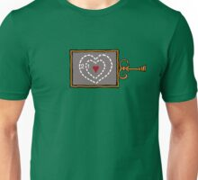 Grinch heart size Unisex T-Shirt