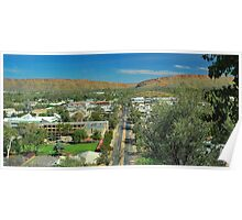 Alice Springs from the Lookout Poster