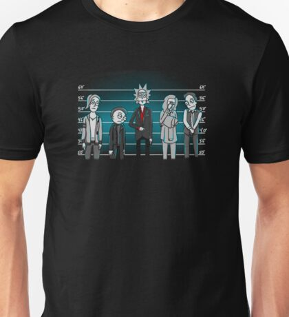 "Unusual Suspects _""Rick And Morty""T-Shirt/case  Unisex T-Shirt"