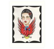 Sin Amor Art Print