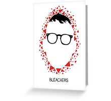 Bleachers Polygons Greeting Card