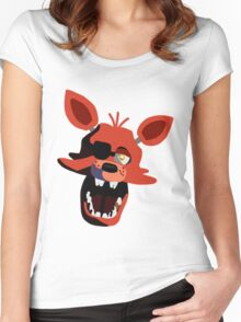Five Nights At Freddy's Foxy Women's Fitted Scoop T-Shirt
