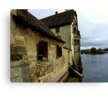 Kloster on the Water Canvas Print
