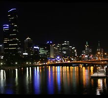 Melbourne from Southbank. by Mark Jones