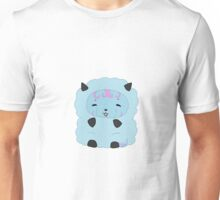 Fluffy Blue Fleeceling Unisex T-Shirt