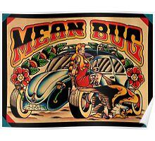 Mean Bug Poster