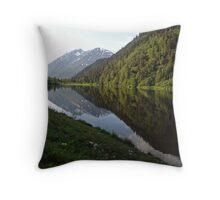 Jerome Lake Throw Pillow