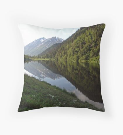 Jerome Lake Throw Pillow