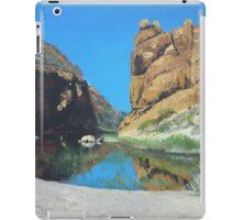 Glen Helen Gorge, Northern Territory, Australia iPad Case/Skin