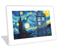 The Doctor and Vincent Laptop Skin