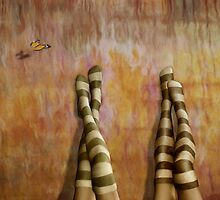 Girl Talk * Striped Socks by Ana CB Studio