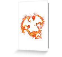 Charizard Spirit Greeting Card