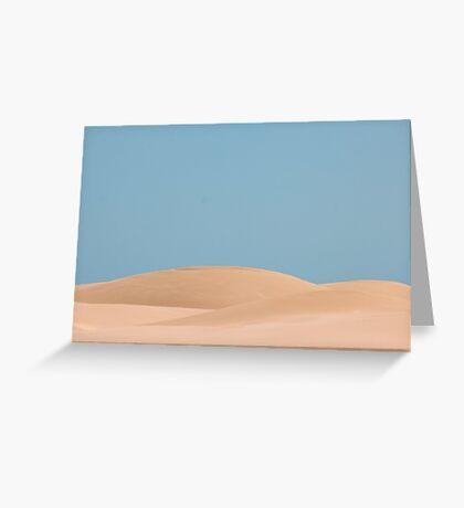 Dune body Greeting Card