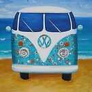 Charlies VW Kombi  by Jane Whittred