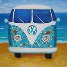 Charlies VW Kombi  by Jane Whittred