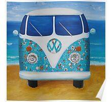 Charlies VW Kombi  Poster