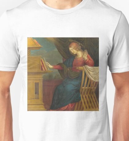Gaudenzio Ferrari - The Annunciation - The Virgin Mary Unisex T-Shirt