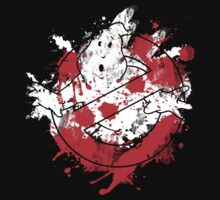 Ghostbusters Logo Paint Splatter Kids Clothes
