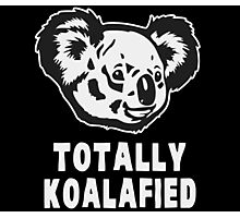 Totally Koalafied Koala Photographic Print