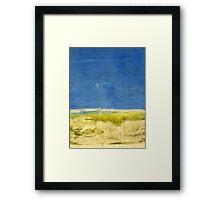 Landscape Monotype Framed Print