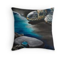 Blessings of the Ocean Throw Pillow