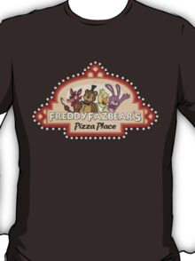 Five Nights at Freddy's Freddy Fazbear's Logo T-Shirt