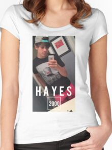 HAYES 2000 Women's Fitted Scoop T-Shirt