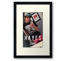 HAYES 2000 Framed Print