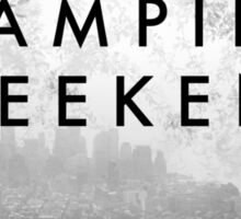 Vampire Weekend Poster Sticker