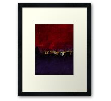 Purple magenta No 54 Framed Print