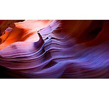 Desert Waves Photographic Print