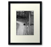Amish Children Framed Print