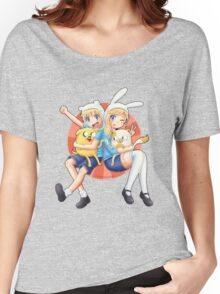 Anime Adventure Time! Women's Relaxed Fit T-Shirt