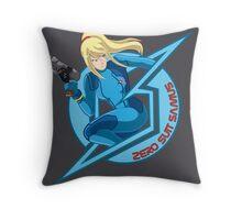 Zero Suit Samus Throw Pillow
