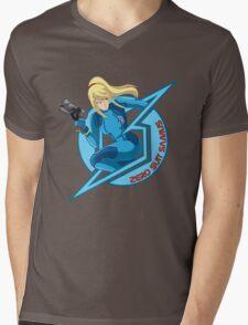 Zero Suit Samus Mens V-Neck T-Shirt