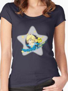 Rosalina & Luma Women's Fitted Scoop T-Shirt