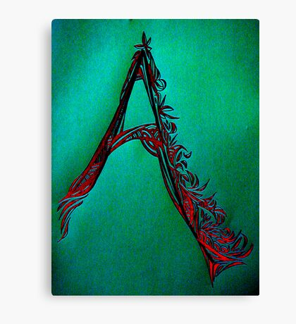 Alpha Series A.1 - Medieval  Canvas Print
