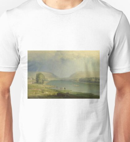 George Inness - The Delaware Water Gap Unisex T-Shirt