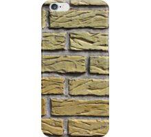 Details of yellow bricks iPhone Case/Skin