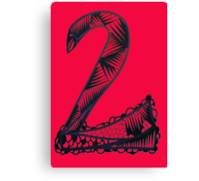 Numeric Series 2.a - Snake Canvas Print