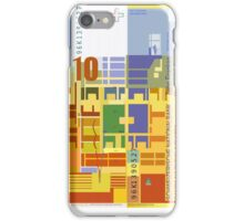 10 Swiss Francs note bill - back side iPhone Case/Skin