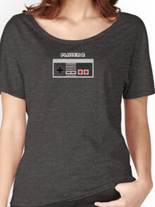 Retro Gamer Design Player 2 Women's Relaxed Fit T-Shirt