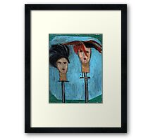 Haute Hats Framed Print