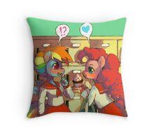 Happy Valentines Dashie - MLP Throw Pillow