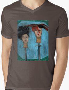 Haute Hats Mens V-Neck T-Shirt