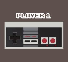 Retro Gamer Design Player 1 T-Shirt