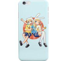 Anime Adventure Time! iPhone Case/Skin
