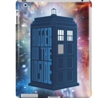It's Bigger On The Inside. iPad Case/Skin